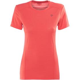 Norrøna W's Wool T-Shirt Crisp Ruby
